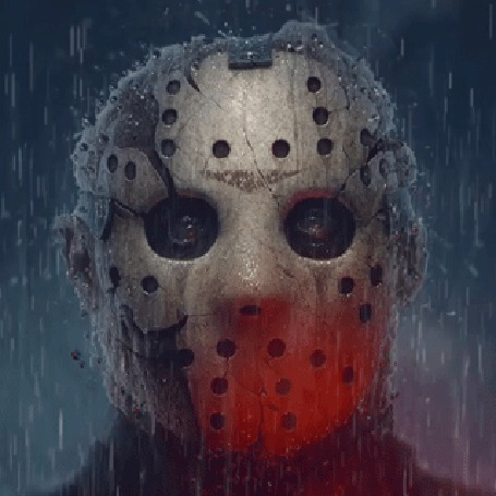 Анимация Джейсон Вурхиз / Jason Voorhees из фильма Пятница, 13-е / Friday, the 13th