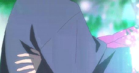 Анимация Hotaru Takegawa / Хотару Такэгава и Gin / Гин из аниме Hotarubi no Mori e / В лес, где мерцают светлячки