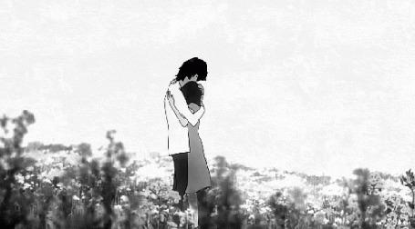 Анимация Ookami / Волк и Hana / Хана из аниме Ookami Kodomo no Ame to Yuki / Волчьи дети Амэ и Юки