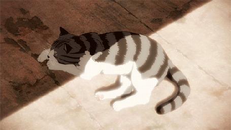 Анимация Кадр из аниме Kara no Kyoukai / Граница пустоты: Сад Грешников