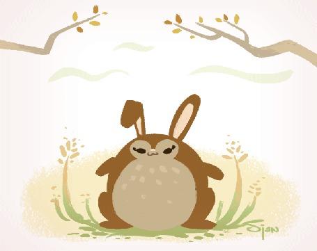 Анимация Зайчик высидел пасхальное яйцо (Happy Easter! / Счастливой Пасхи!), by Sjan Weijers