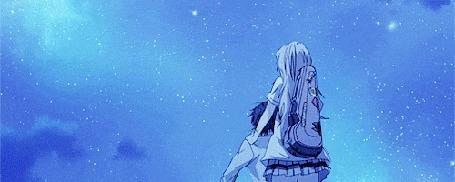 Анимация Kaori Miyazono / Каори Миязоно из аниме Shigatsu wa Kimi no Uso / Твоя апрельская ложь