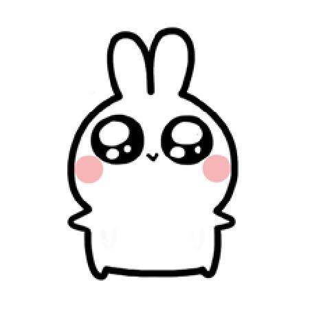 Анимация Кролик машет лапками, by Yoyo the Ricecorpse