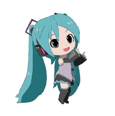 Анимация Vocaloid Hatsune Miku / Вокалоид Хацунэ Мику