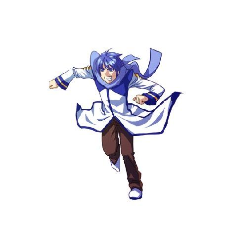 Анимация Vocaloid Kaito / Вокалоид Кайто