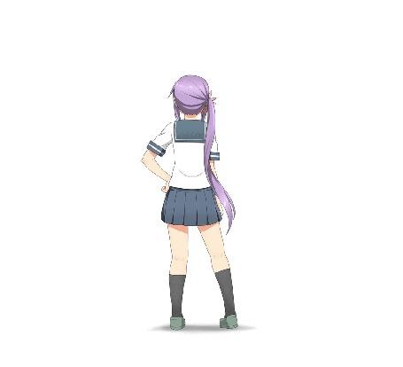 Анимация Akebono / Акэбоно из аниме Kantai Collection / Флотская коллекция