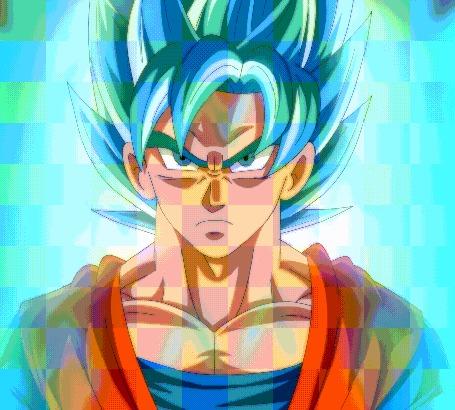 Анимация Gokuu Son / Сон Гоку из аниме Dragon Ball / Драконий жемчуг, by bocodamondo