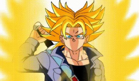 Анимация Персонаж из аниме Dragon Ball / Драконий жемчуг, by bocodamondo