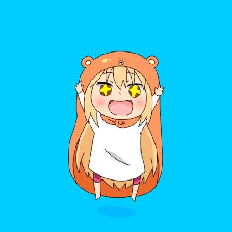 Анимация Doma Umaru / Дома Умару из аниме Himouto! Umaru-chan / Двуличная сестренка Умару-чан!
