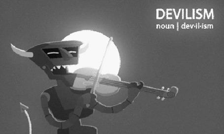 Анимация Robot Devil / Робот Дьявол из мультсериала Futurama / Футурама, by Blue-Staple-Studios