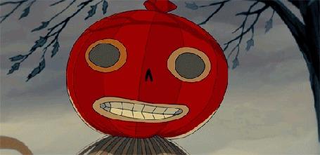 Анимация Качающийся светильник Джека