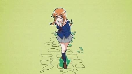 Анимация Benio Yonomori / Бэнио Йономори из аниме Mikakunin de Shinkoukei / Помолвлена с незнакомцем