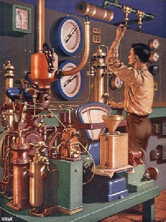Анимация Ученый-исследователь, в своей лаборатории, проводит химические исследования или испытания, чтобы в будущем приготовить нужный ему препарат, возможно будущее лекарство для медицины от какого-то заболевания, By Илья, оригинал картинки от Galbraith OLeary